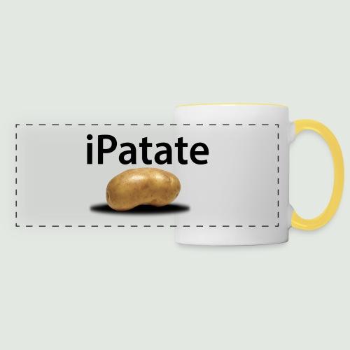 iPatate - Mug panoramique contrasté et blanc
