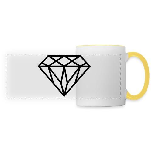 Diamond Graphic // Diamant Grafik - Panoramatasse