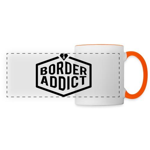 Border Addict - Mug panoramique contrasté et blanc