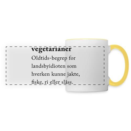 Vegetarianer definisjon - Panoramakopp