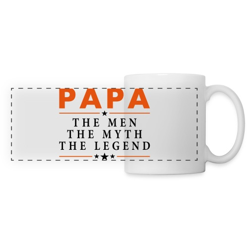 PAPA THE LEGEND - Panoramic Mug