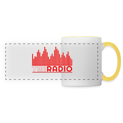 NEW TMI LOGO RED AND WHITE 2000 - Panoramic Mug
