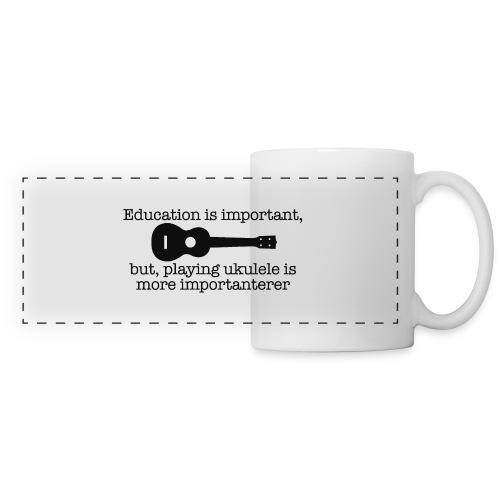 Important Ukulele - Panoramic Mug