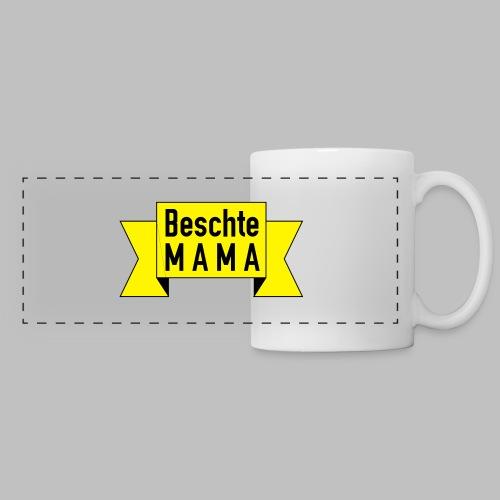 Beschte Mama - Auf Spruchband - Panoramatasse