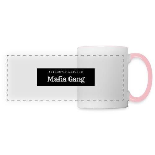 Mafia Gang - Nouvelle marque de vêtements - Mug panoramique contrasté et blanc