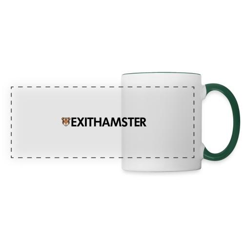 HAMSTER HEAD LETTERING - Panoramic Mug