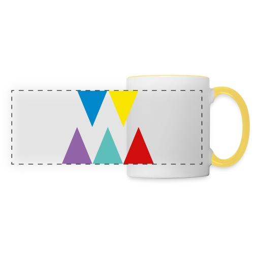 Logo We are les filles - Mug panoramique contrasté et blanc