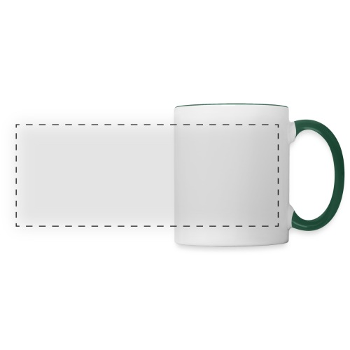 Talk Knit ?, white - Panoramic Mug