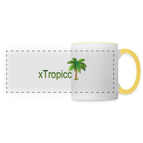 tropicc - Mug panoramique contrasté et blanc