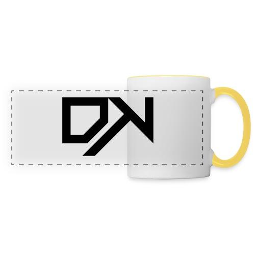 DewKee Logo Samung Galaxy S4 Case Black - Panoramic Mug