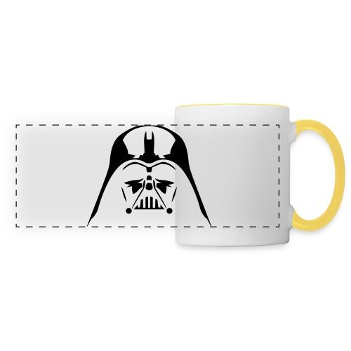 Dark-vador - Mug panoramique contrasté et blanc