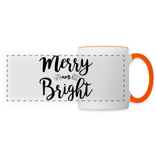 Merry and Bright - Panoramatasse