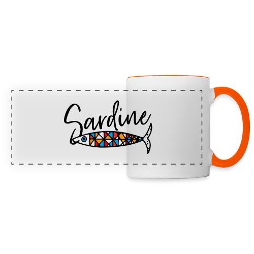 Sardine colorate all'amo - Tazza con vista