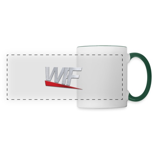 WWEFANFRANCE - Mug panoramique contrasté et blanc