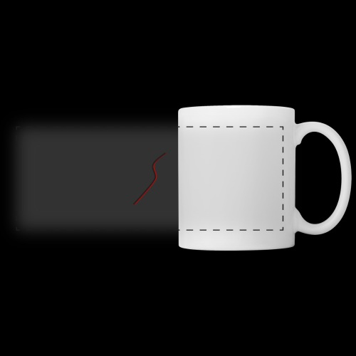 logo Style red - Mug panoramique contrasté et blanc