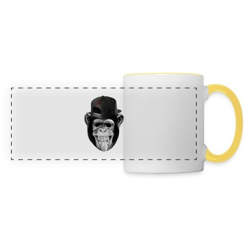Logo Crazy Monkey - Tazza con vista