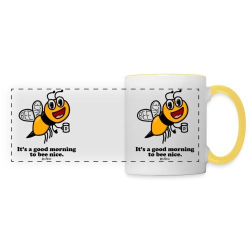 Bee Nice - Panoramic Mug