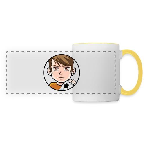 X$ GAMER - Mug panoramique contrasté et blanc