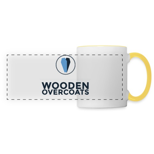 Wooden Overcoats Logo Mug - Panoramic Mug