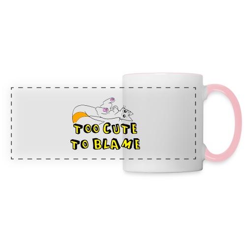 Too Cute To Blame - Panoramic Mug