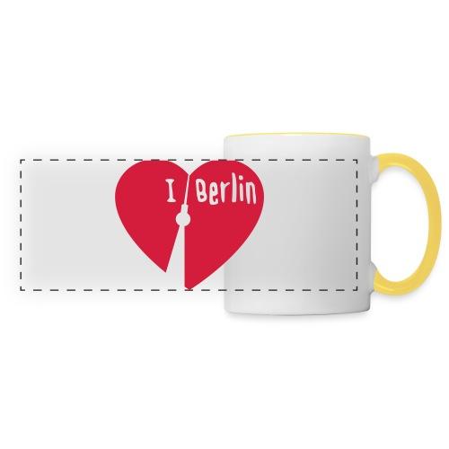 I love Berlin (1-farbig) - Panoramatasse