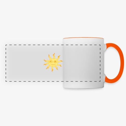 soleil - Mug panoramique contrasté et blanc