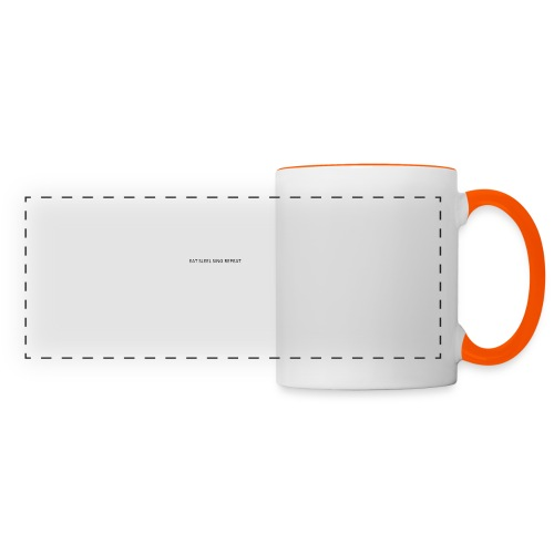 eat sleep sing - Panoramic Mug