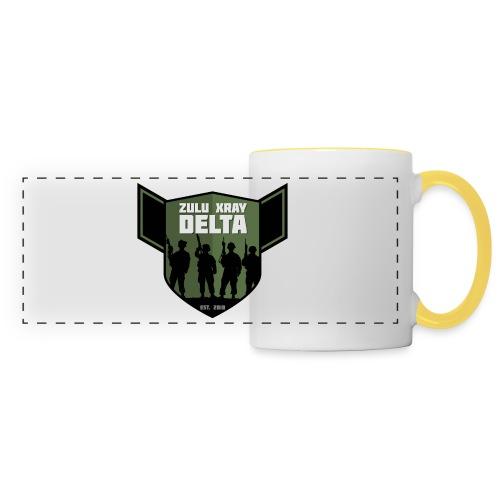 Zulu X-Ray Delta Logo - Panoramic Mug
