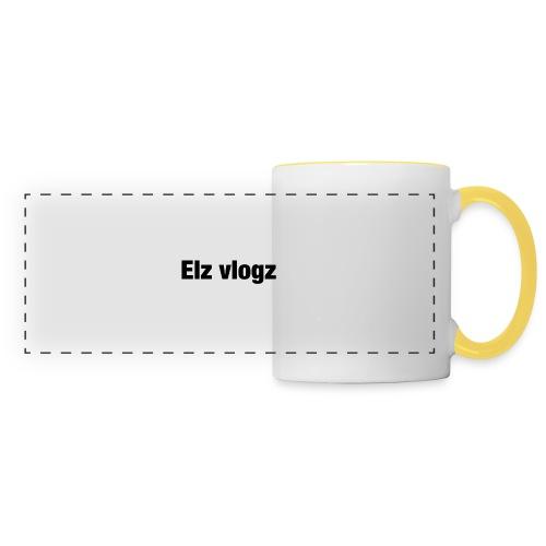 Elz vlogz merch - Panoramic Mug