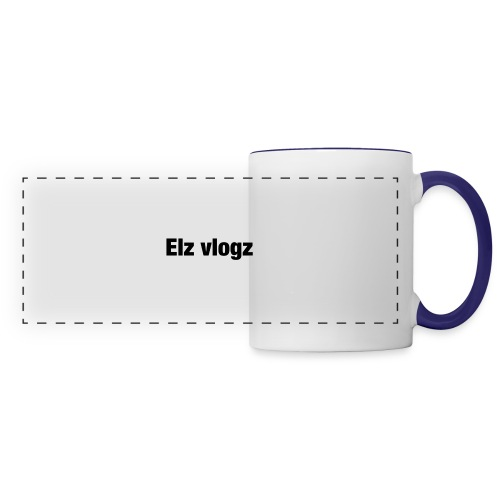 Elz vlogz merch - Panoramic Mug