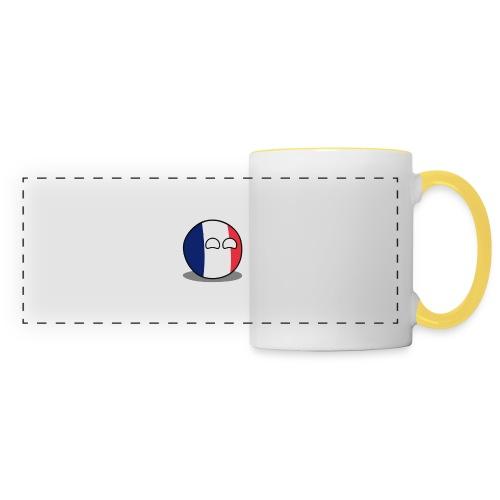 France Simple - Mug panoramique contrasté et blanc