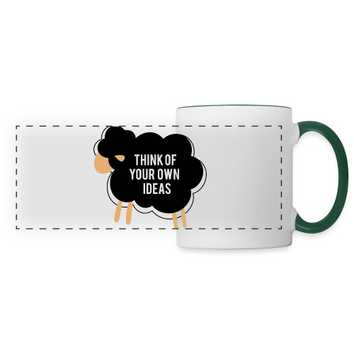 Think of your own idea! - Panoramic Mug