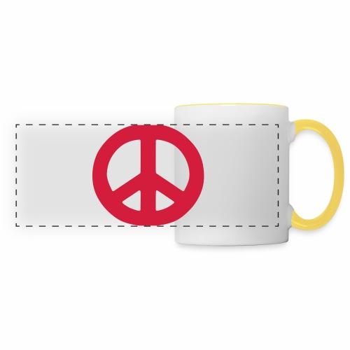 Peace - Panoramic Mug