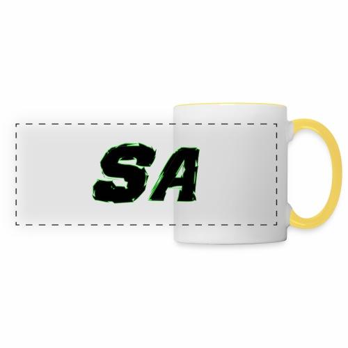 Svart SA Logo - Panoramamugg