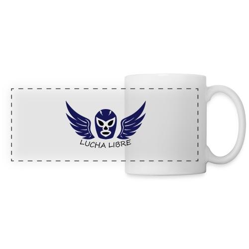Lucha Libre - Mug panoramique contrasté et blanc