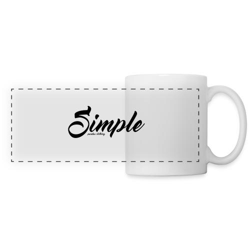 Simple: Clothing Design - Panoramic Mug