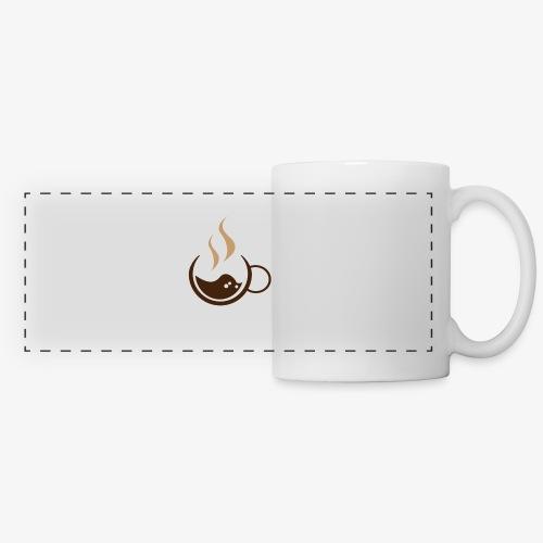 Pose Café - Mug panoramique contrasté et blanc