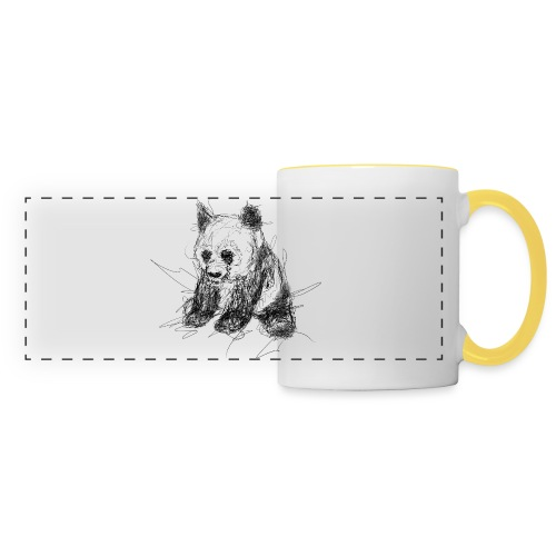 Scribblepanda - Panoramic Mug