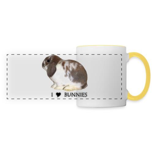 I Love Bunnies Luppis - Panoraamamuki