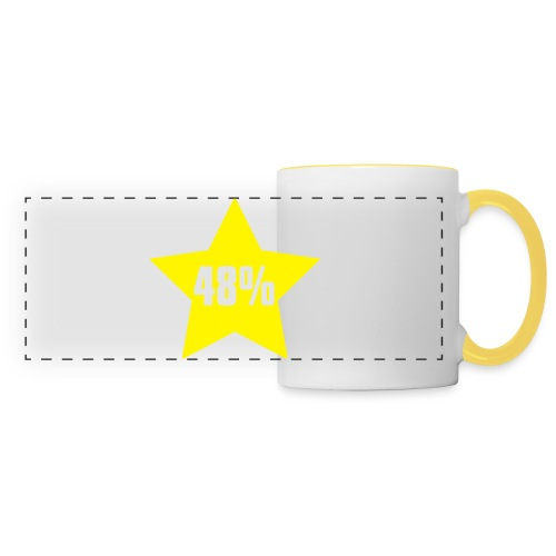 48% in Star - Panoramic Mug