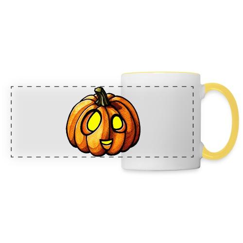 Pumpkin Halloween watercolor scribblesirii - Panoramatasse