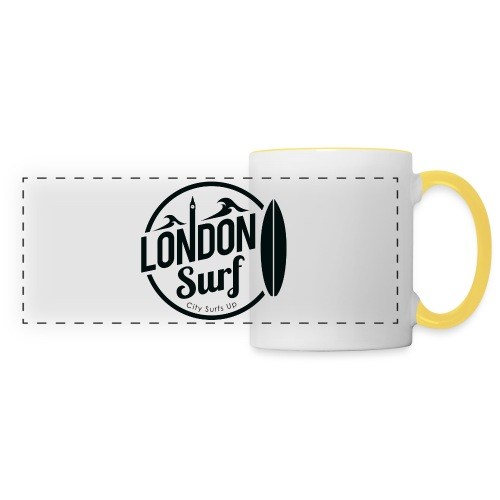 London Surf - Black - Panoramic Mug