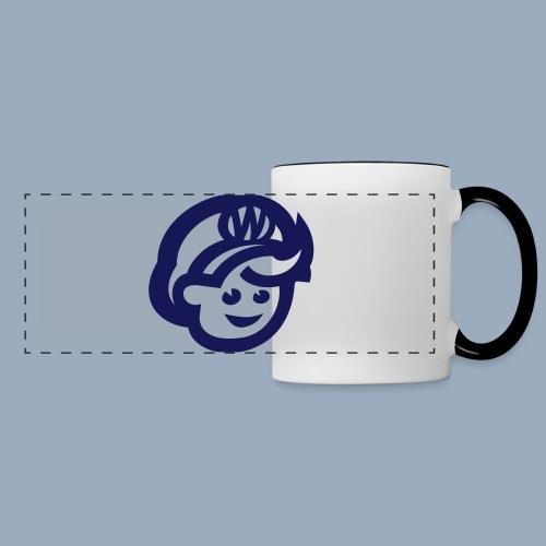 logo bb spreadshirt bb kopfonly - Panoramic Mug