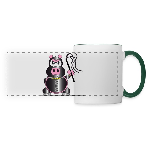 Schweinchen Sado - Panoramatasse