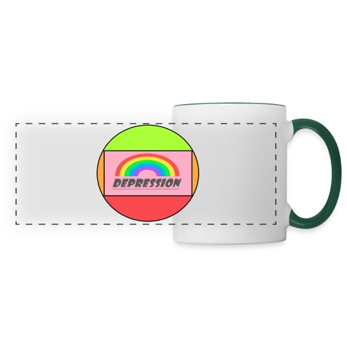 Depressed design - Panoramic Mug