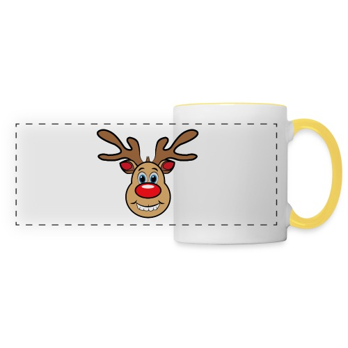 Ugly Christmas Weihnachten Xmas Rudi Reindeer - Panoramatasse