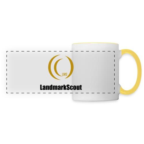 Tshirt Yellow Front logo 2013 png - Panoramic Mug
