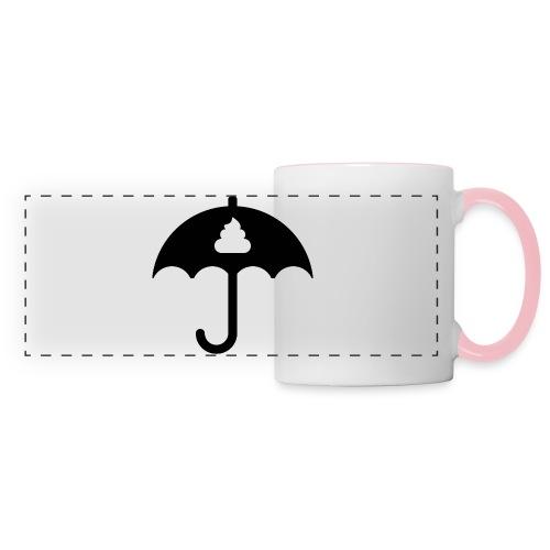Shit icon Black png - Panoramic Mug