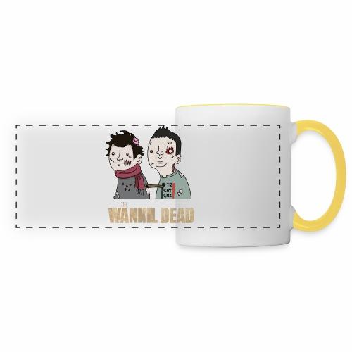 The Wankil Dead - Mug panoramique contrasté et blanc