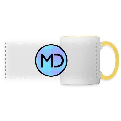 MD Blue Fibre Trans - Panoramic Mug